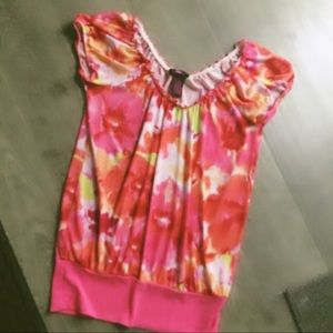 Ultra Flirt Tops - Bright colored blouse